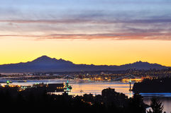 Vancouver Sunrise Royalty Free Stock Image