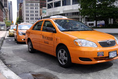 Vancouver Taxi Royalty Free Stock Images