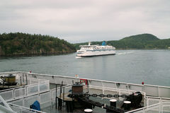 Vancouver to Victoria Ferry BC Canada Stock Images