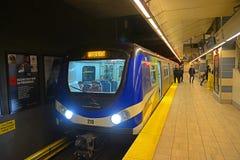 Vancouver tunnelbana, Vancouver, F. KR., Kanada Royaltyfria Foton
