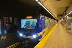 Vancouver tunnelbana, Vancouver, F. KR., Kanada Royaltyfri Fotografi