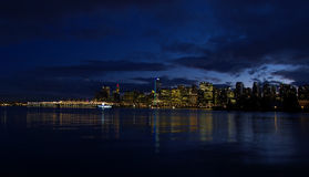 Vancouver Twilight stock images