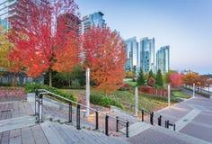 Vancouver-Ufergegend Stockfotografie