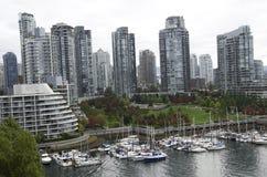Vancouver van de binnenstad Royalty-vrije Stock Fotografie