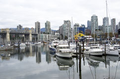 Vancouver van de binnenstad Stock Foto
