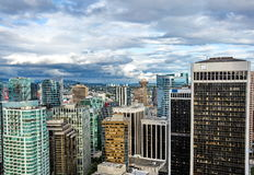 Vancouver van de binnenstad Stock Afbeeldingen