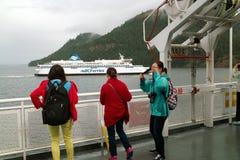 Vancouver a Victoria Ferry Fotografie Stock Libere da Diritti