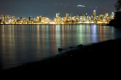 Vancouver View Royalty Free Stock Photo