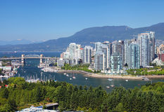 Vancouver w Kanada Fotografia Stock