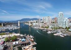 Vancouver w Kanada Zdjęcia Royalty Free