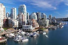 Vancouver w Kanada Zdjęcie Royalty Free
