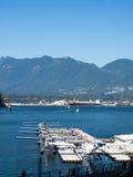 Vancouver-Wasserflugzeuge Stockfotografie