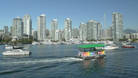 Vancouver Water Taxi Service Royalty Free Stock Photos