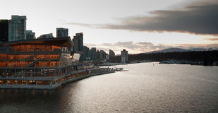 Vancouver waterfront Royalty Free Stock Photography
