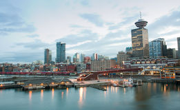 Vancouver waterfront Stock Photography