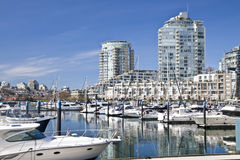 Vancouver Waterfront Royalty Free Stock Photo