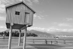 Vancouver Waterfront in British Columbia, Canada Royalty Free Stock Image