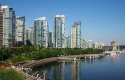 Vancouver Waterfront Royalty Free Stock Image