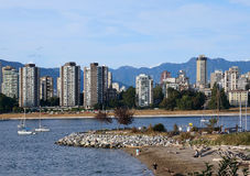 Vancouver waterfront park Stock Photography