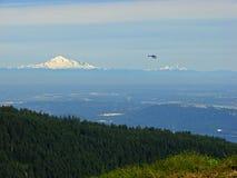 Vancouver widok góry baker obrazy royalty free