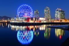 Vancouver-Wissenschafts-Welt BC Kanada Lizenzfreies Stockfoto