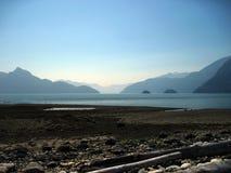 Vancouver wybrzeża linia Obrazy Stock
