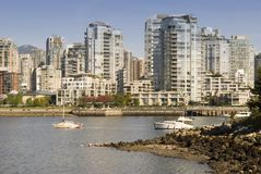 Vancouver and Yaletown Royalty Free Stock Images