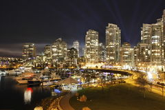 Vancouver Yaletown Skyline Royalty Free Stock Photo