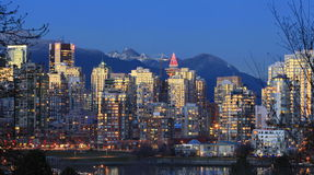 Vancouver Yaletown Skyline Stock Images