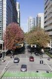 Vancouver zieleni ulica Obrazy Royalty Free