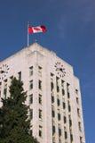 VancouverRathaus, Vancouver BC stockfotos