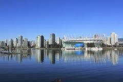 Vancouvers Entertainment District Stock Image
