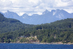 Vancouvers Stadtrände Lizenzfreies Stockfoto