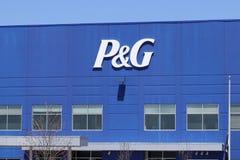 Vandalia - τον Απρίλιο του 2018 Circa: Κέντρο διανομής ένωσης Procter & Gamble P&G είναι αμερικανική πολυεθνική επιχείρηση Ι κατα στοκ φωτογραφία με δικαίωμα ελεύθερης χρήσης