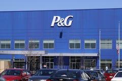 Vandalia - τον Απρίλιο του 2018 Circa: Κέντρο διανομής ένωσης Procter & Gamble P&G είναι αμερικανική πολυεθνική επιχείρηση Ι κατα στοκ εικόνα με δικαίωμα ελεύθερης χρήσης