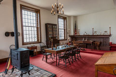 VANDALIA ILLINOIS - Vandalia Statehouse, Interior of Illinois first State Capitol 1836-1839 and home of Abraham Lincoln site Stock Image