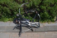 Vandalished Biclycle 免版税库存照片