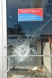 Vandalism in Ferguson Stock Photography