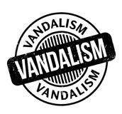 Vandalism rubber stamp Royalty Free Stock Photography