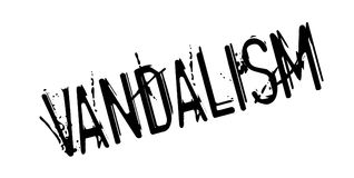 Vandalism rubber stamp Royalty Free Stock Images