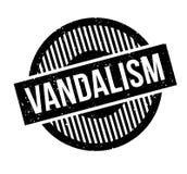 Vandalism rubber stamp Royalty Free Stock Photos