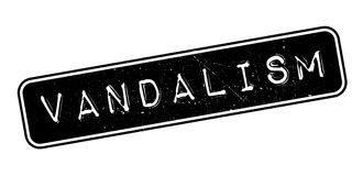 Vandalism rubber stamp Stock Photography