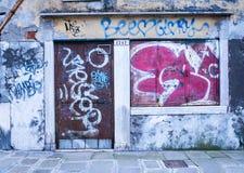 vandalisme Royalty-vrije Stock Foto's