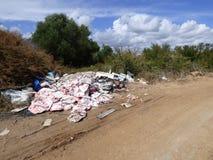 Vandalisme environnemental Images libres de droits