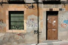 vandalisme urbain photographie stock libre de droits