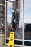 Vandalismo Foto de archivo libre de regalías