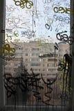 Vandalismo de Graffity Foto de archivo libre de regalías
