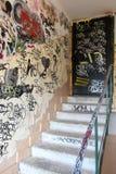 Vandalismo de Graffity Imagen de archivo libre de regalías
