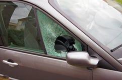 Vandalismo do carro fotos de stock