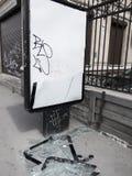 Vandalismo en la calle Imagenes de archivo